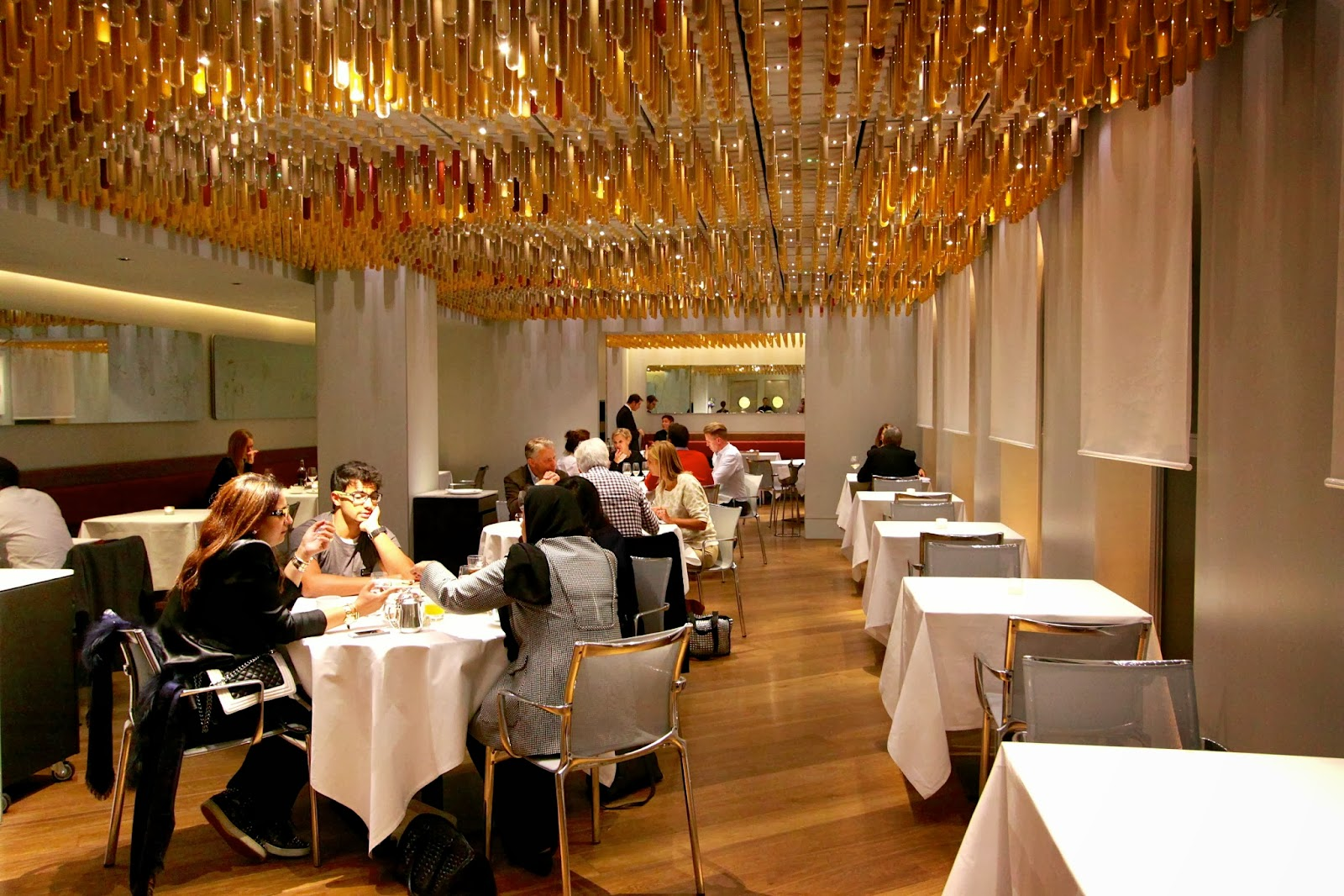 The London Foodie London Restaurant Reviews  Ametsa with
