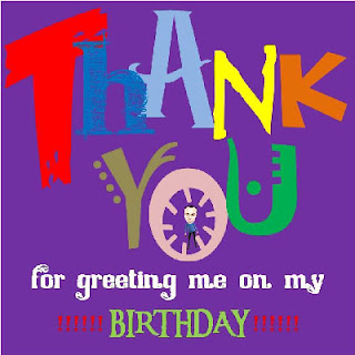 Birthday Thank you Messages for Family