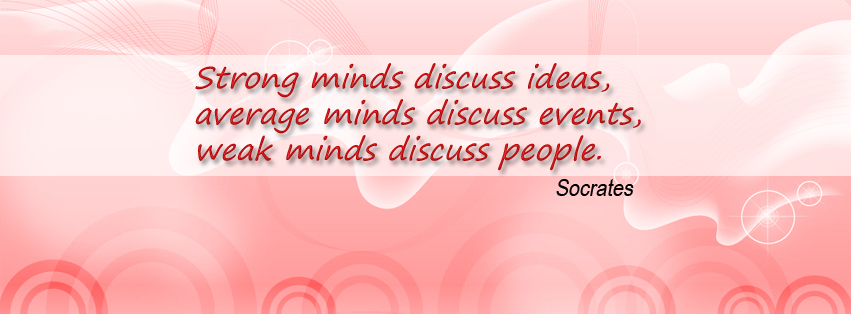 Socrates Quotes FB Cover