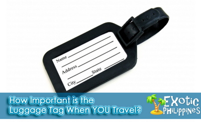 How Important is the Luggage Tag When YOU Travel