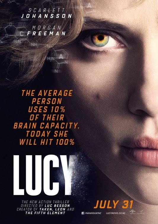 Lucy 2014 – HDRip English 300MB 480p