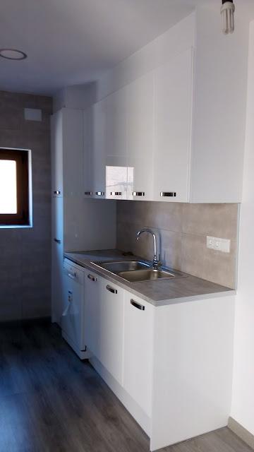 Cocinas Lleida: Muebles de Cocina Modelo Blanco Mate