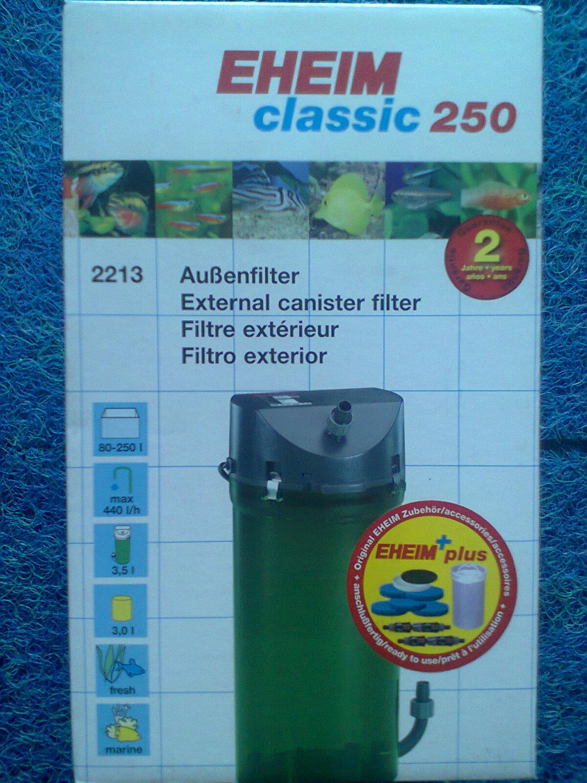 FILTER CLASSIC EXTERNAL EHEIM : JUAL FILTER EXTERNAL ...