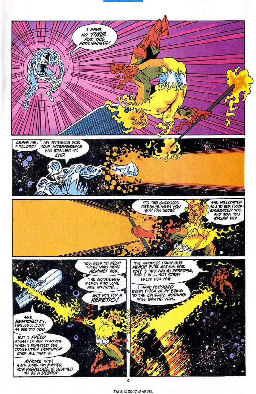 Read online Silver Surfer (1987) comic -  Issue #83 - 11