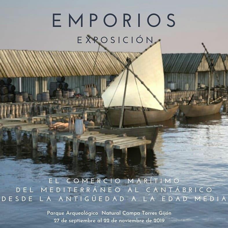 Emporios. el Comercio del Mediterráneo al Cantábrico en la Antigüedad. Museos Arqueológicos de Gijón.