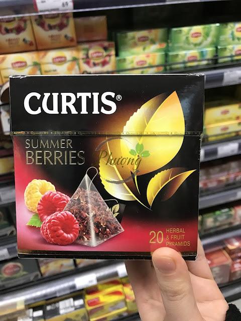 Trà đen Nga hiệu Curtis hương vị hoa quả ngon và sang trọng làm quà tặng