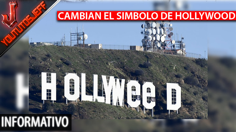 Bromista cambia el simbolo de Hollywood como 'Hollyweed' | 2017