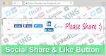 Cara Membuat Tombol Share Dibawah Postingan Blog
