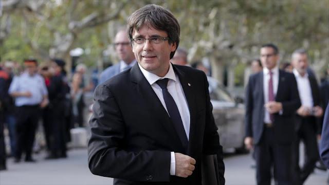 Fiscalía belga fija audiencia sobre euroorden contra Puigdemont
