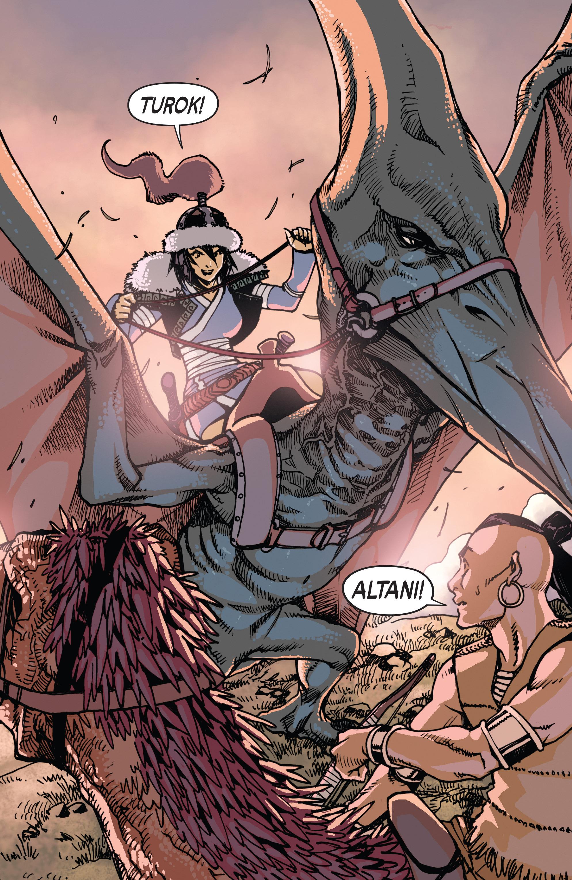 Read online Turok: Dinosaur Hunter (2014) comic -  Issue # _TPB 2 - 62