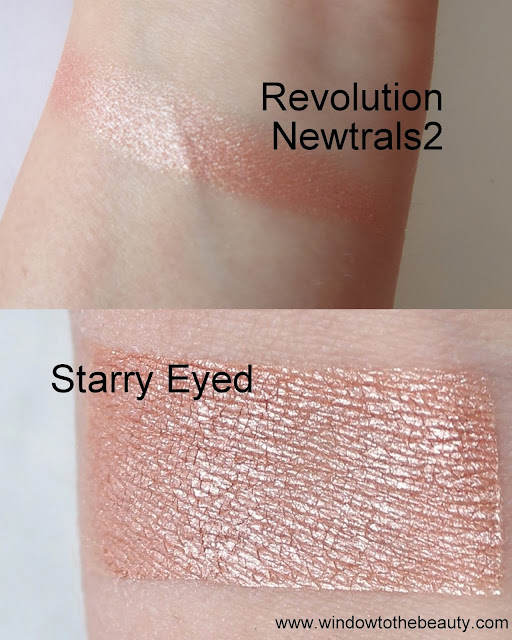 Makeup Geek Starry Eyed dupes