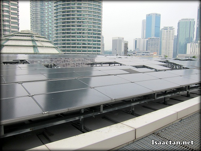 Check out Petronas Solar PV in all its glory, up close and personal