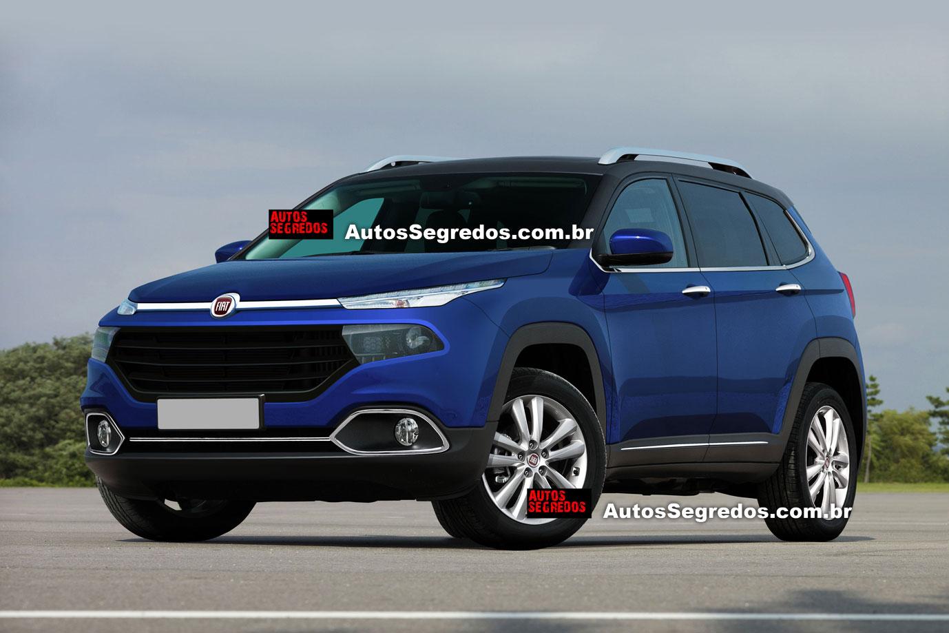 Fiat Un Nuovo SUV Per Il Brasile In Arrivo Nel 2017