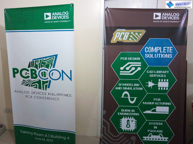 Vertical Tarpaulin Banners with X-Banner Stand