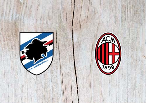 Sampdoria vs AC Milan - Highlights 12 January 2019