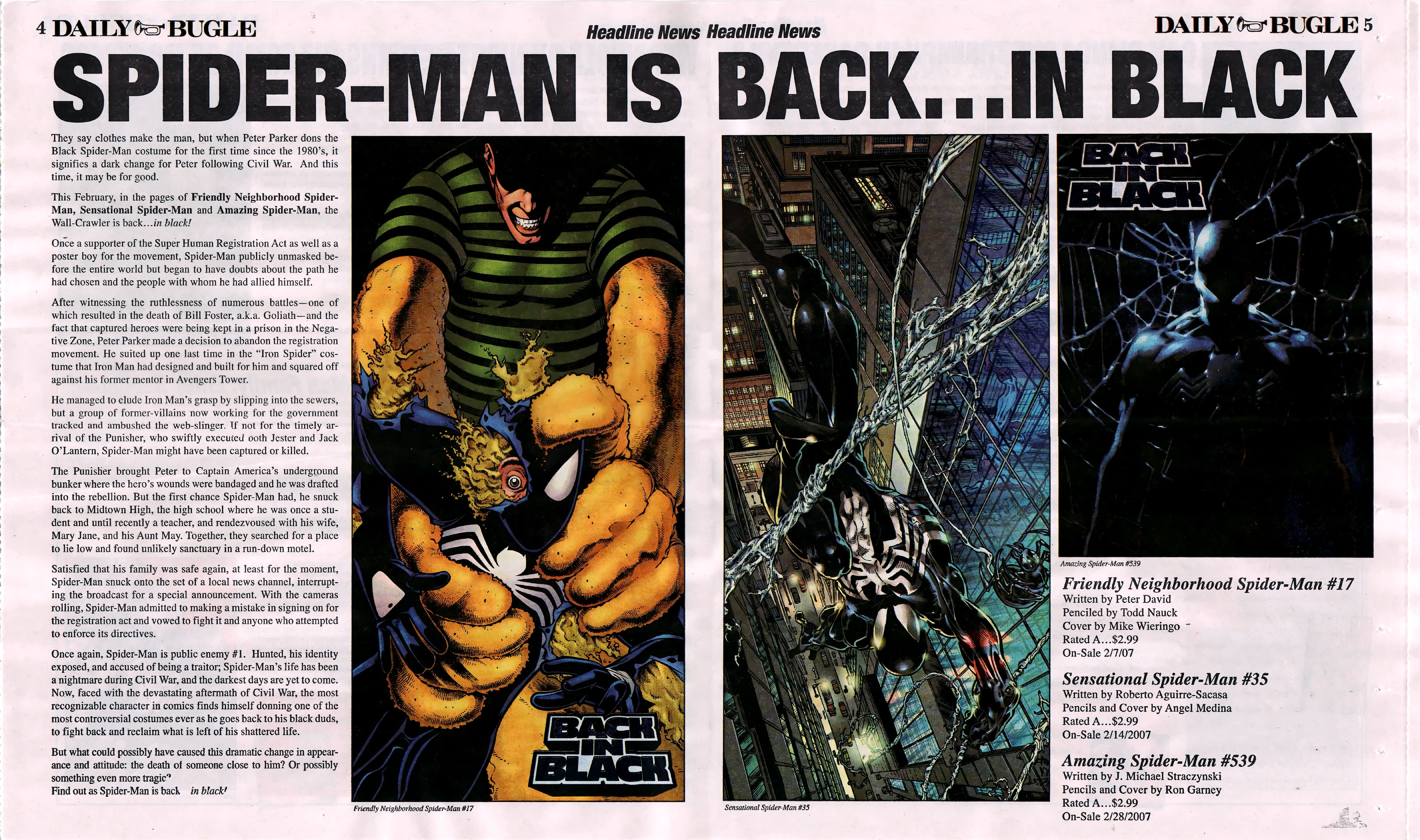 Read online Daily Bugle (2006) comic -  Issue #5 - 5