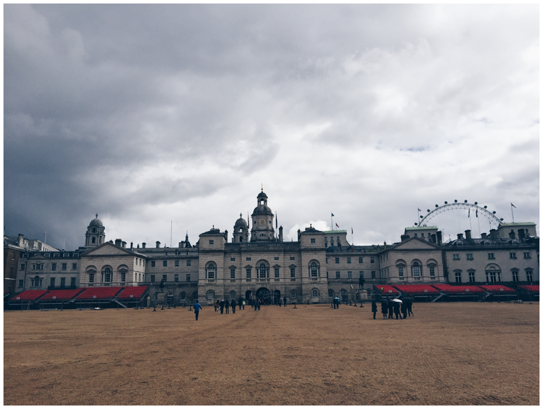 travel diary, london, horse guards parade