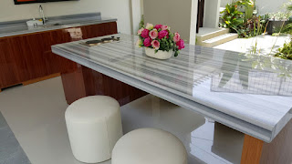 Dining and Top Pantry Marmara Marble