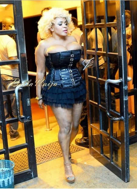 Cossy Ojiakor Steals Attention at Comedy Show with Her Breasts on Display (Photos)