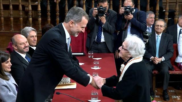 Ida Vitale, premio Cervantes, Juzbado