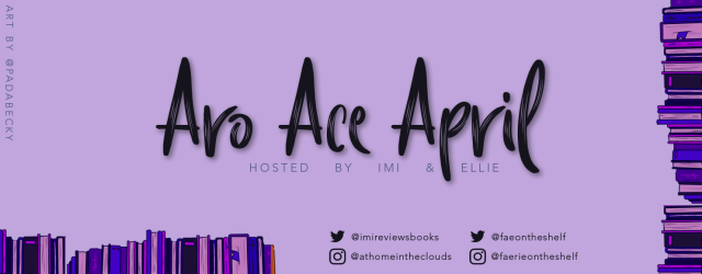 Aro Ace April Reading Challenge Banner