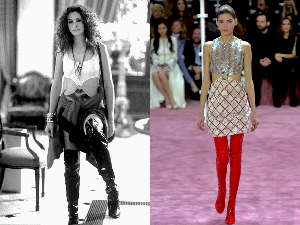 Into The Fashion Inspiration Pretty Woman 1990 Christian Dior Hc Ss 2015