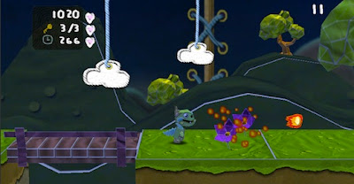 PMdragon1 Robot vs. Wizards' Paper Monsters para iPhone lembra Little Big Planet