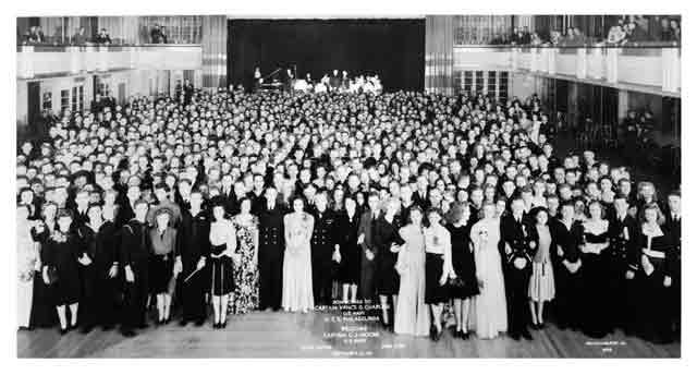 USS Philadelphia change of command ceremony at the Hotel Astor in New York, 29 September 1941 worldwartwo.filminspector.com