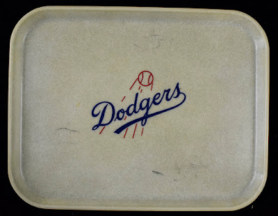 A Vintage Dodgers Lunch Tray