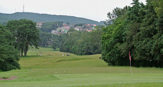 View of Shillong Golf Course