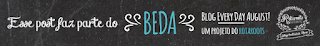 BEDA - Blog Every Day August