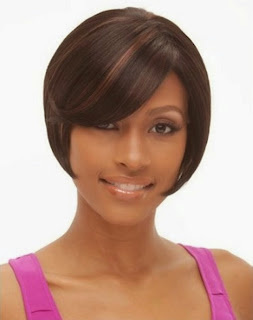 Beauty Black Women Bob Short Hair