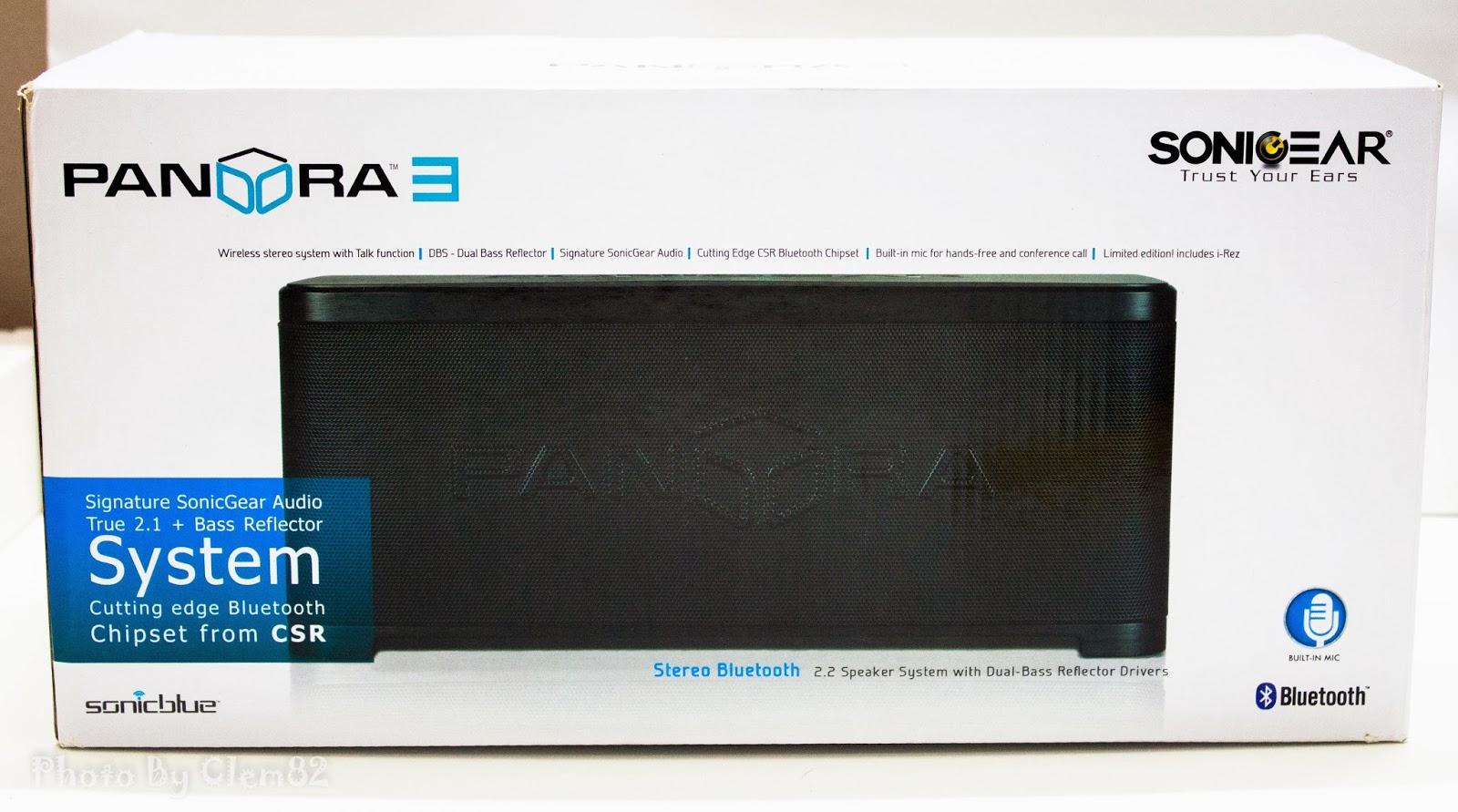 Opening Pandora's Box: SonicGear Pandora Wireless Bluetooth Media Player Series 19