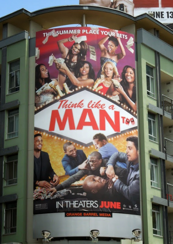 Think Like a Man Too film billboard