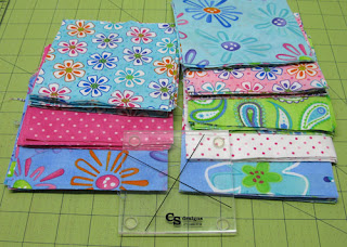Fabric and Lil Twister template