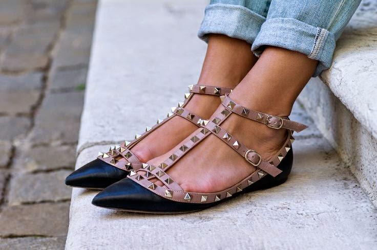 Valentino Shoes Flats Fake