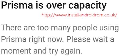 Fix Over Capacity Error In Prisma