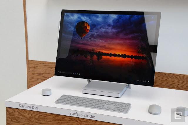 Microsoft Surface Studio, Layar dengan 13,5 Juta Pixel Hadirkan Warna Asli dan Hidup