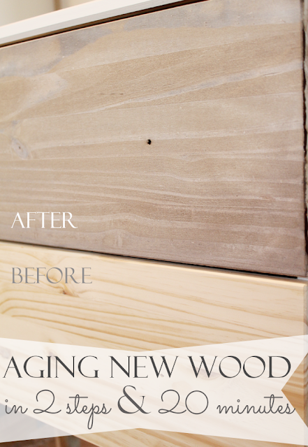 http://www.thriftyandchic.com/2014/11/make-new-wood-look-old-and-weathered-in.html