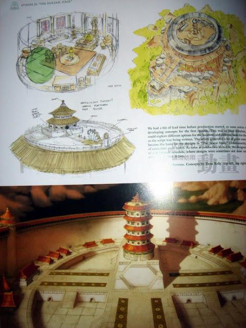 Avatar last airbender Artbook | EbooksArt.com