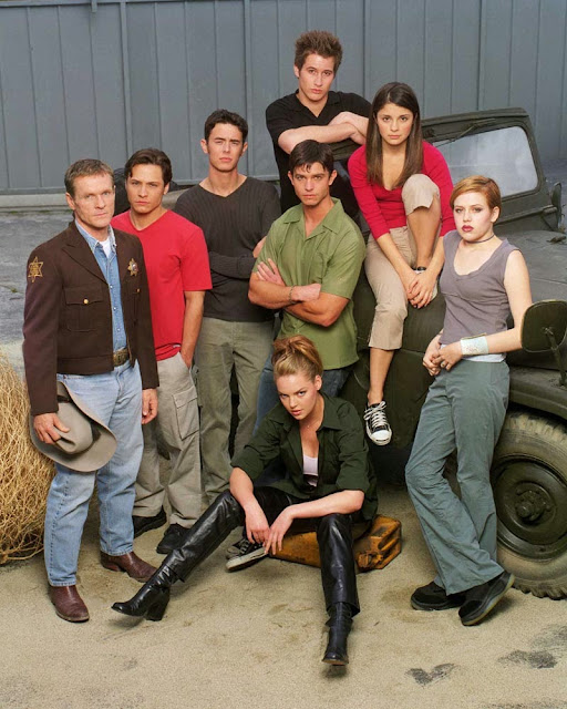 Roswell TV series poster