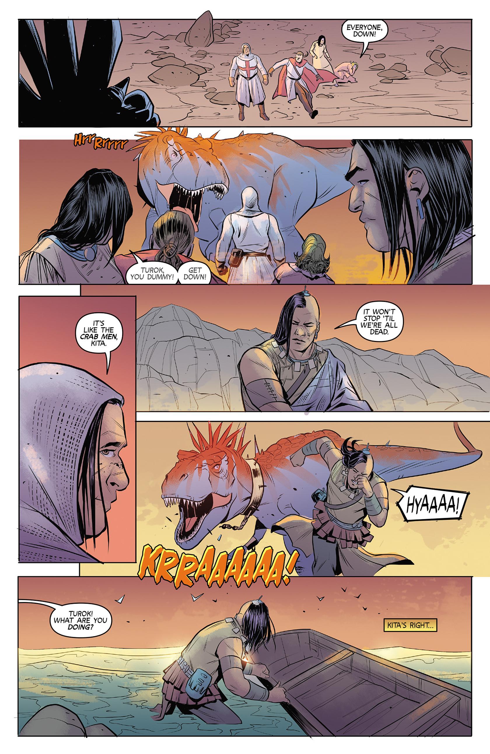 Read online Turok: Dinosaur Hunter (2014) comic -  Issue #4 - 20