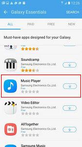 Cara mengatasi aplikasi samsung music hilang