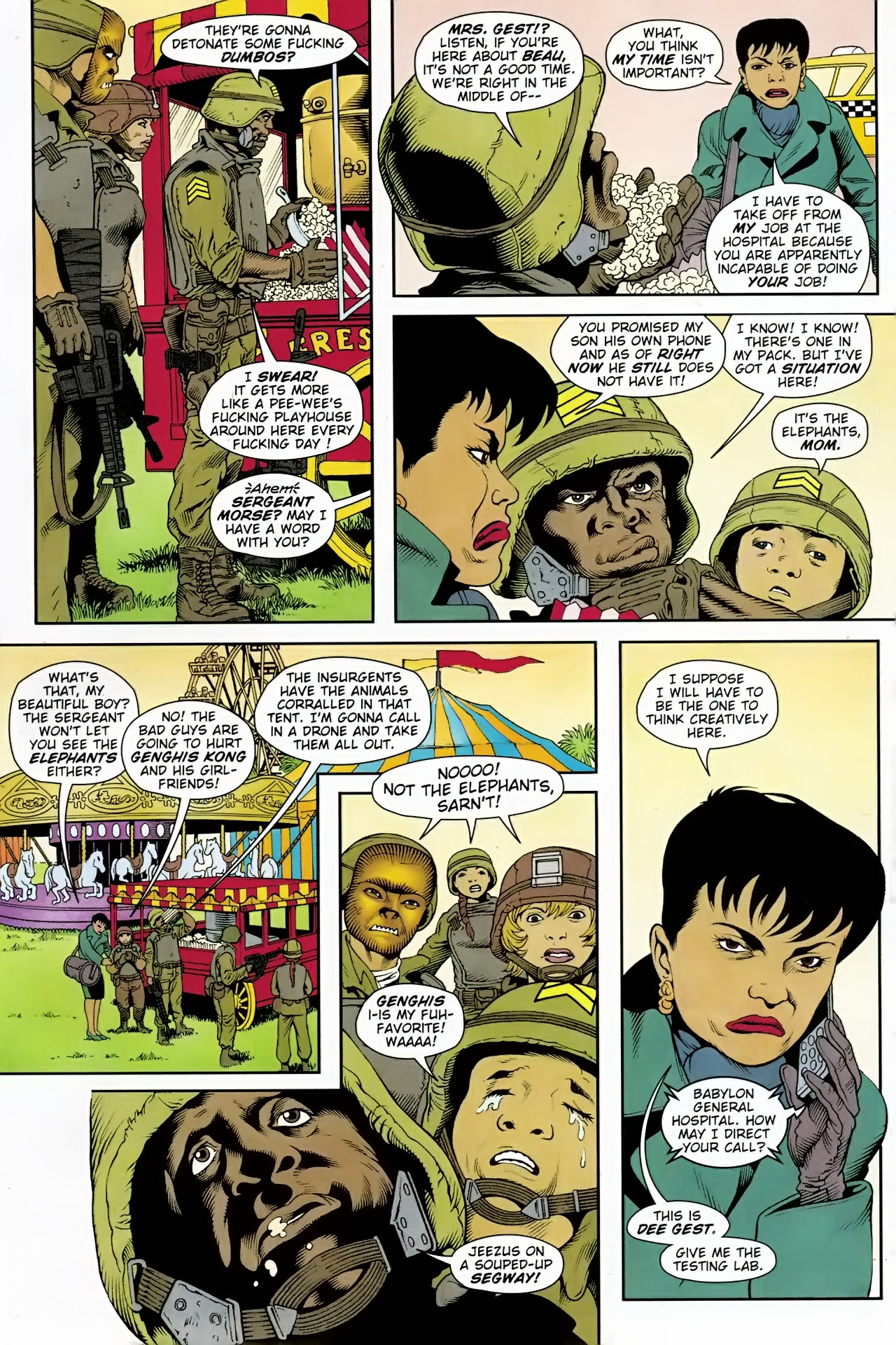 Read online Army @ Love comic -  Issue #7 - 4