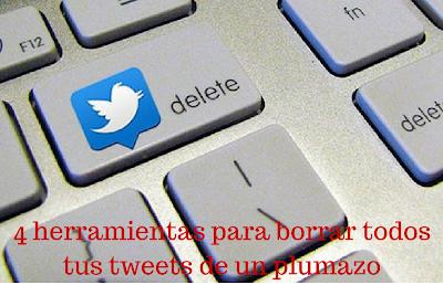 Twitter, Redes Sociales, Borrar, eliminar, tweets, tuits, Herramientas,