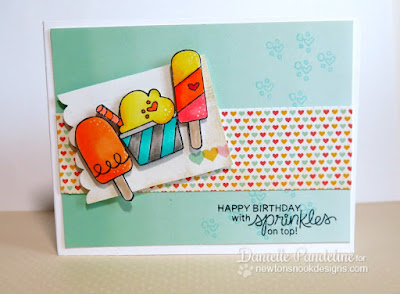 Summer Scoops | Newton's Nook Designs | Created by Danielle Pandeline