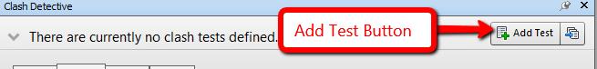 Add test button in clash test in Navisworks
