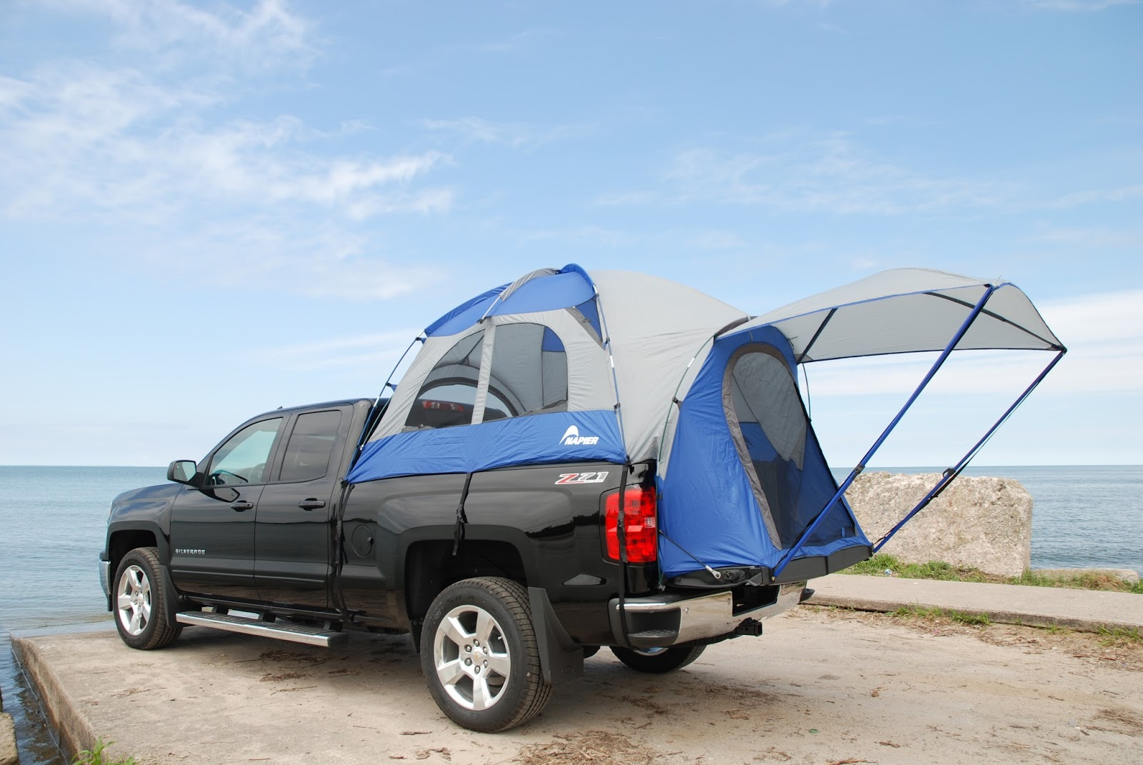 gear spotlight sportz truck tent 57 series from napier outdoors blog gr8 lakes camper. Black Bedroom Furniture Sets. Home Design Ideas