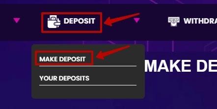 Создание депозита в HotBtcHub