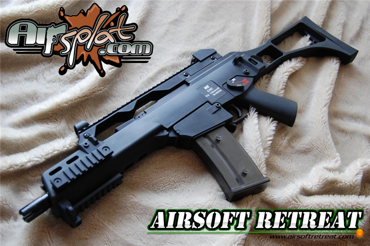 WE G39C (G36C) Gas Blowback Rifle | Booligan's Airsoft Reviews